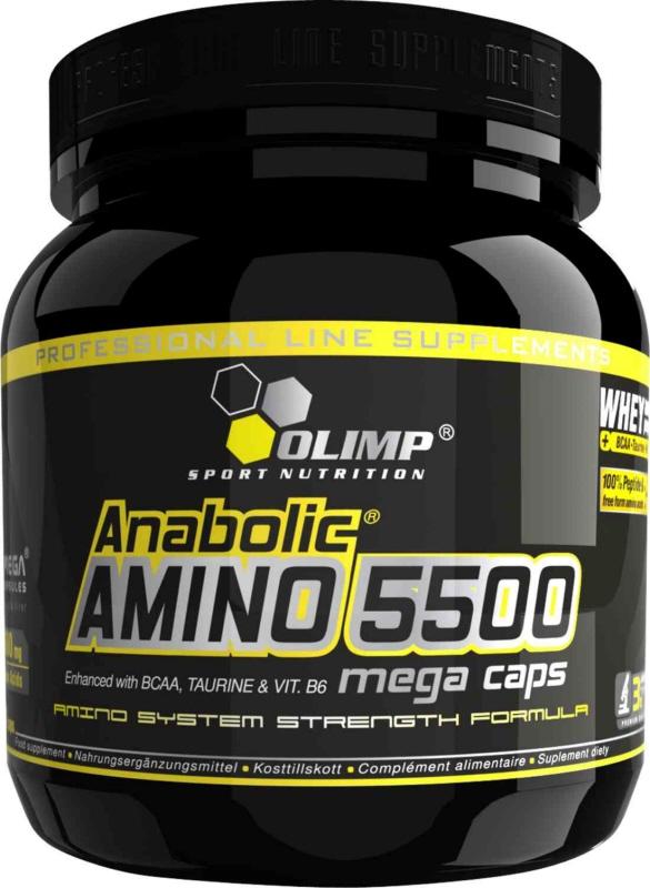 aminokwasy olimp anabolic amino 5500